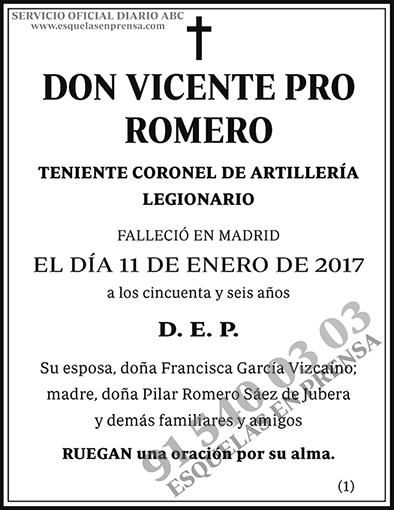 Vicente Pro Romero
